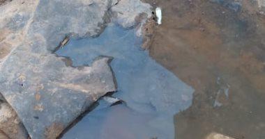 قارئ يشكو من انتشار مياه الصرف الصحى بكفر أبو صير فى المرج