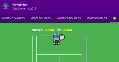 """""""جوجل"""" تطرح لعبة تنس مصغرة بمحرك بحثها احتفالا ببطولة """"ويمبلدون"""""""