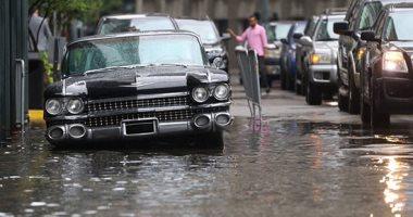 مياه الفيضانات تغمر منطقة نيو أورليانز أشهر مقصد سياحى فى ولاية لويزيانا الأميركية