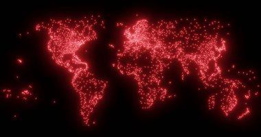 5 خرائط لكوكب الأرض تكشف تفاصيل مثيرة عن المدن والطرق
