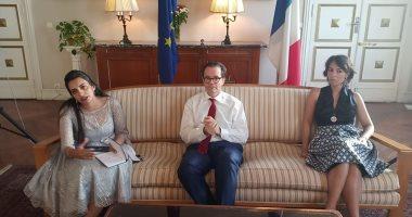 سفير فرنسا : مصر حققت نجاح مبهر فى تنظيم كأس الأمم الأفريقية