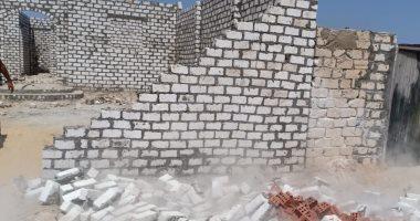 صور.. حملات للتصدى للبناء المخالف غرب الإسكندرية