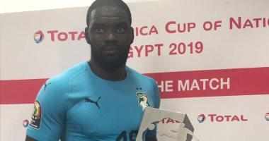 حارس الأفيال أفضل لاعب فى مباراة كوت ديفوار و الجزائر