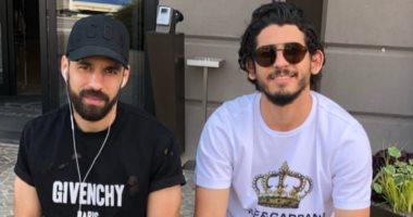 شريف إكرامى وأحمد حجازى يهنئان عبد الله السعيد بعيد ميلاده