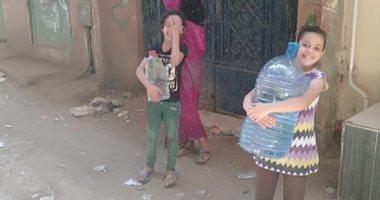 شكوى من انقطاع مياه الشرب عن الكلح غرب عزبة المصرى بأسوان
