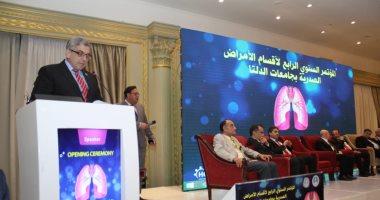 جامعة بنها تشارك فى المؤتمر السنوى الرابع للأمراض الصدرية بجامعات الدلتا