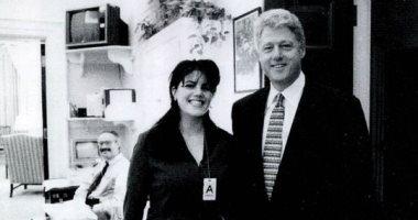 مونيكا لوينسكى تغرد حول فضيحتها الجنسية بالبيت الأبيض منذ 20 عاما.. اعرف القصة