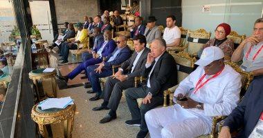 السنغال ضد تونس.. وزير الرياضة ورئيس الكاف يتابعان المباراة