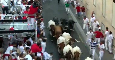 مشجعو ولاعبو مصارعة الثيران يتظاهرون طلبا لدعم حكومة إسبانيا فى مواجهة كورونا