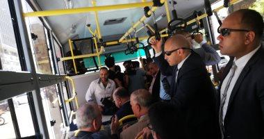 محافظ القاهرة: تحويل حافلات النقل العام لتعمل بالغاز الطبيعى خلال 3 سنوات