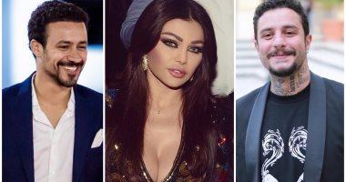 """هيفاء وهبى تعود للسينما بـ""""عقد الخواجة"""" مع أحمد الفيشاوى وأحمد داوود"""