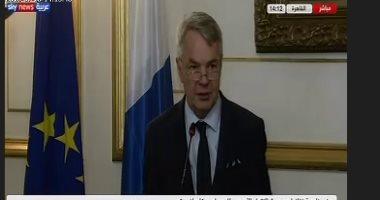 روسيا وفنلندا تبحثان نزع السلاح النووى والملفين السورى والإيرانى