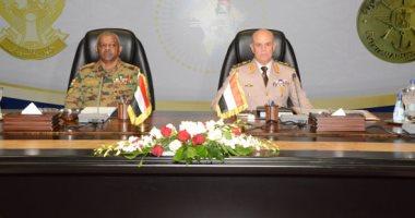 الفريق محمد فريد يلتقى رئيس الأركان السودانى لبحث دعم العلاقات المشتركة