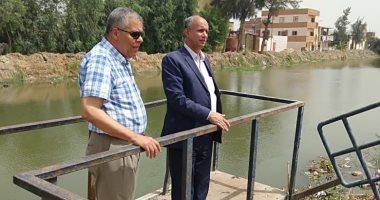 رئيس مصلحة الرى فى جولة بمحافظة بورسعيد للتأكد من وصول مياه الشرب