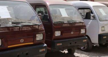 فيديو.. الشرطة تضبط عصابة سرقت 17 سيارة فى الجيزة