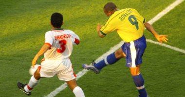 جول مورنينج.. رونالدو يسجل هدفا رائعا فى شباك المغرب بمونديال 98