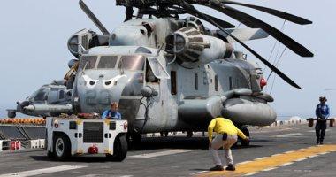 البحرية الأمريكية تدفع بطائرات حربية فى بحر العرب قبالة سواحل عمان