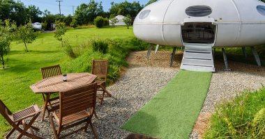 شاهد.. غرف فندقية مستوحاة من المركبة الفضائية  أبولو 11 فى نيوزيلندا