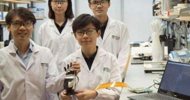 باحثون يطورون بشرة إلكترونية لمنح الروبوتات الإحساس باللمس