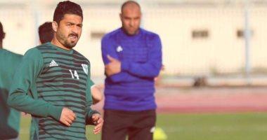 عبد الله بيكا لاعب المصرى يوقع لطنطا