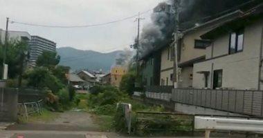 ارتفاع حصيلة ضحايا حريق استوديو للرسوم المتحركة باليابان لـ 12 حالة وفاة