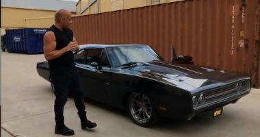 "طاقم عمل فيلم Fast & Furious 9 يهدى ""فان ديزل"" سيارة فى عيد ميلاده"