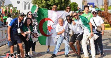 احتفالات عارمة فى شوارع الجزائر عقب الفوز بكأس الأمم الأفريقية