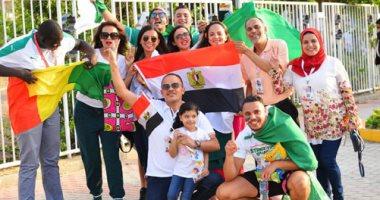 صور.. مصر والجزائر ايد واحدة فى نهائى أمم أفريقيا 2019