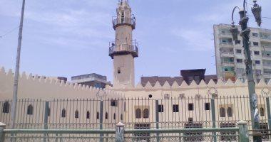"""""""الوداع"""" أقدم مسجد بمدينة المنيا.. تحفة شامخة منذ العصر المملوكى.. صور"""