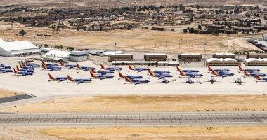"""بعد تكرار الحوادث.. مقبرة جماعية لطائرات """"بوينج 737 ماكس"""" بمطار بكاليفورنيا"""