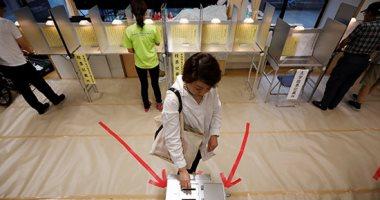 الناخبون فى اليابان يصوتون فى انتخابات مجلس الشيوخ