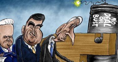 """كاريكاتير إندبندنت: حمى الاستقالات تهدد بوريس جونسون بسبب """"بريكست"""""""