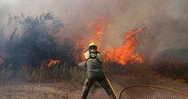 800 جندى و13 طائرة و243 سيارة إطفاء للسيطرة على حرائق الغابات فى البرتغال