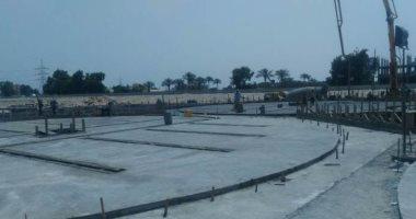 استمرار أعمال تنفيذ صوامع الحسينية بالشرقية بتكلفة 250 مليون جينه