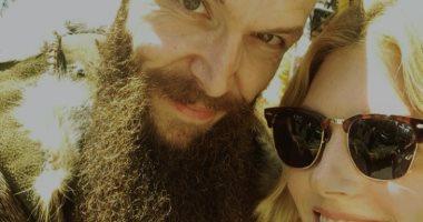 أبطال مسلسل Vikings.. كاثرين وينك مع فلوكى بمهرجان Comic Con