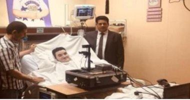 صور.. وفد الأحوال المدنية يستخرج بطاقتين لمصريين مريضين بمستشفى بالسعودية