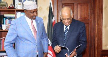 عبدالعال لزعيم أغلبية بالبرلمان الكينى: الرئيس حريص على تفعيل انتماء مصر الأفريقى