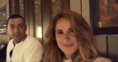 بعد عام من الشائعات .. شيرى عادل تنفى بالفيديو طلاقها من معز مسعود