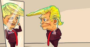 كاريكاتير.. جونسون ترامب بريطانيا الجديد