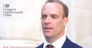 وزير الخارجية البريطانى: نريد من إيران العودة للالتزام بالاتفاق النووى