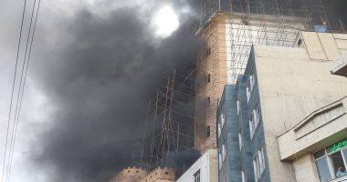 النيابة تأمر بانتداب المعمل الجنائى لمعاينة حريق شقة فى حلوان