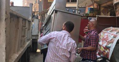 تحرير 270 محضر إشغال ومخالفات بناء ورفع 10 أطنان قمامة بالخانكة