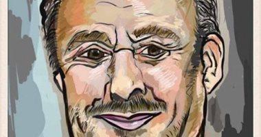 قارئة تشارك بصورة كاريكاتير للفنان الراحل فاروق الفيشاوى