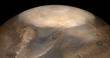 على عكس المألوف.. الكواكب الجافة الباردة لديها الكثير من الأعاصير