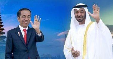 محمد بن زايد والرئيس الإندونيسى يبحثان علاقات البلدين وجهود مواجهة كورونا