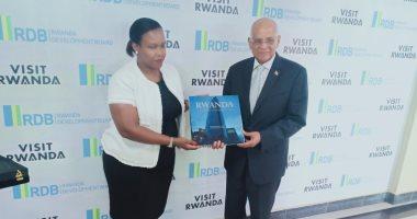 صور.. على عبد العال يشيد لرئيسة مجلس تنمية رواندا بالتعاون المشترك