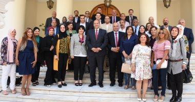 """صور.. """"المرشدين السياحيين"""" تختتم دورة تدريب أعضائها حول الدبلوماسية المصرية"""