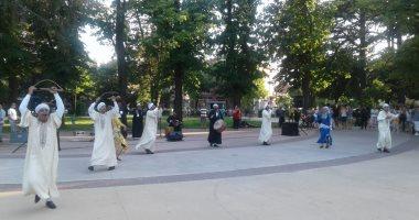 صور.. سوهاج للفنون الشعبية تبهر الجمهور فى بلغاريا