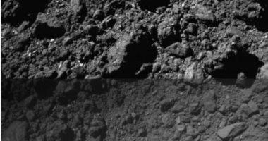 لقطات من الهبوط الثانى لمركبة الفضاء اليابانية Hayabusa2 على كويكب ريوجو