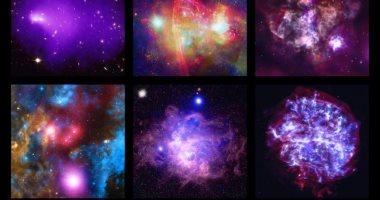 ناسا تكشف عن 6 صور كونية بالذكرى الـ20 لمرصد تشاندرا للأشعة السينية